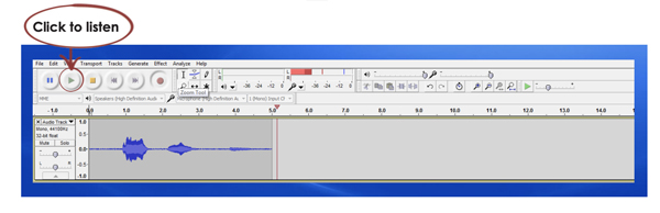 15 WORKING WITH AUDACITY