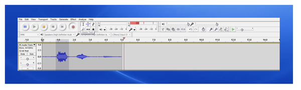 17 WORKING WITH AUDACITY