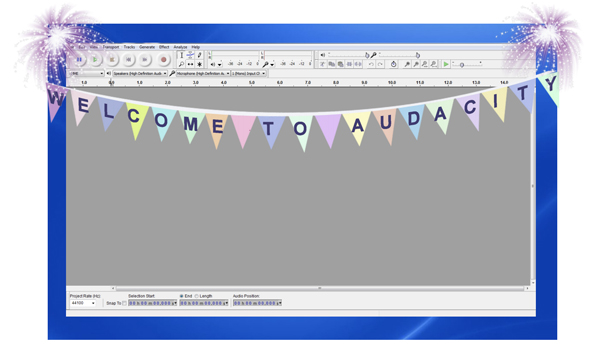 1 WORKING WITH AUDACITY