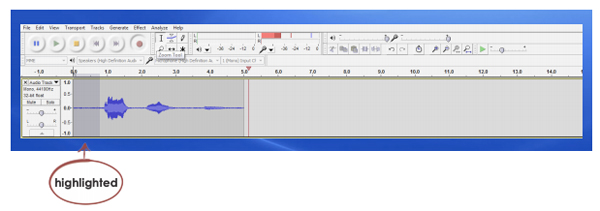 35 WORKING WITH AUDACITY