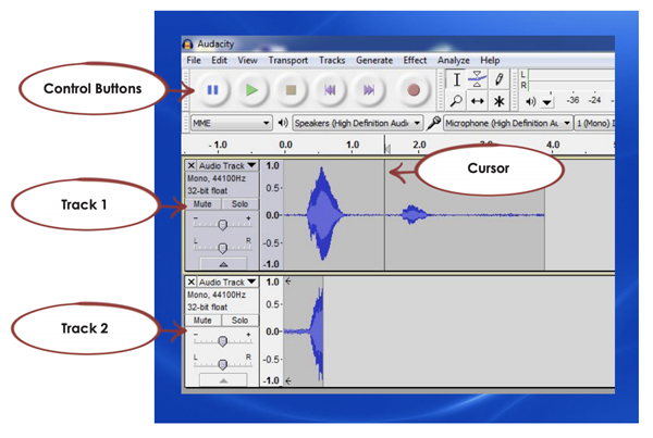 3 WORKING WITH AUDACITY